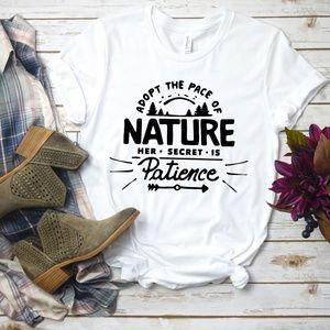 Unisex Tee Nature Secret is Patience t-Shirt